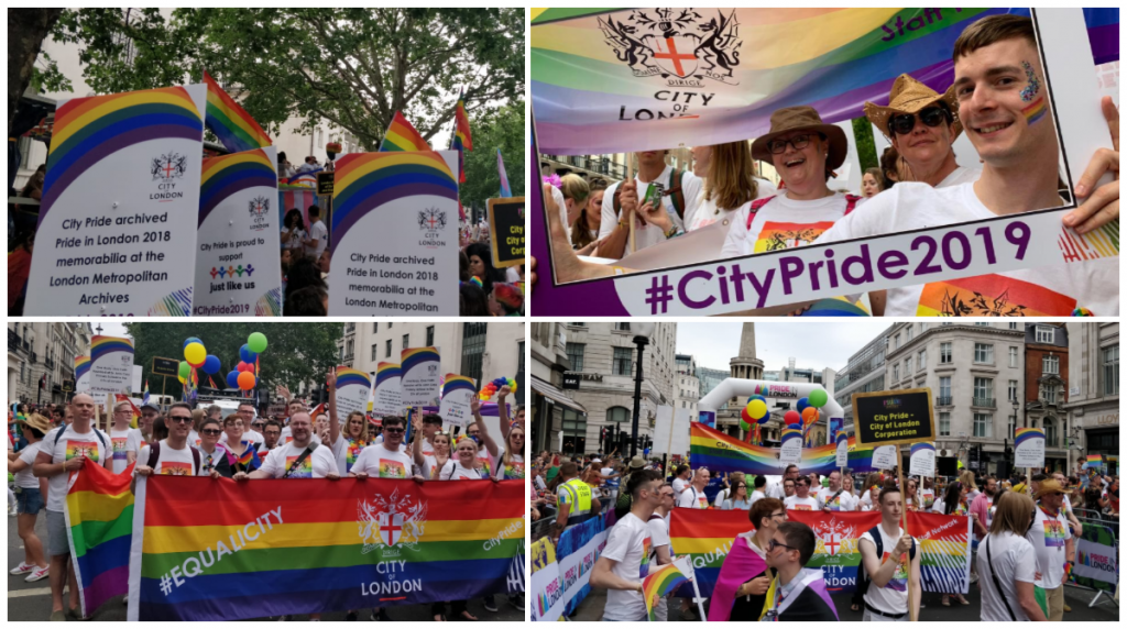Thrive LDN Pride in London collage
